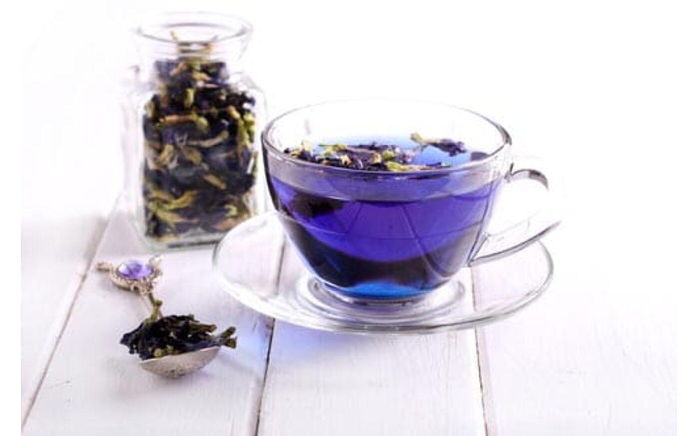 Синий чай. Что это?
