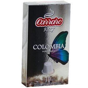 Кофе в капсулах Carraro Colombia 10 шт