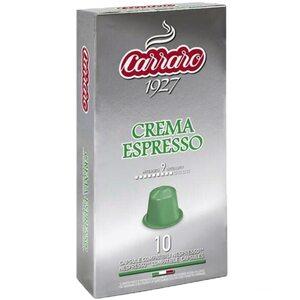 Кофе в капсулах Carraro Crema Espresso 10 шт