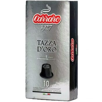 Кофе в капсулах Carraro Tazza D'oro 10 шт