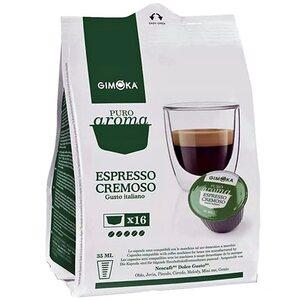 Кофе в капсулах Gimoka Cremoso 16 шт