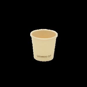Паперовий стакан BAMBOO CUP 110 мл 100 шт
