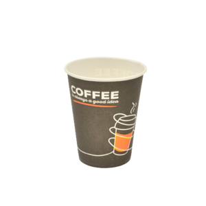 "Паперовий стакан ""Coffee black"" 250 мл 100 шт"