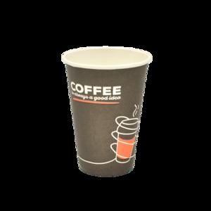 "Паперовий стакан ""Coffee black"" 340 мл 100 шт"