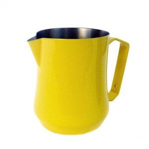 Молочник Motta Tulip сталевий жовтий 0,50 л