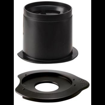 Пуровер HARIO V60 01 черный пластиковый