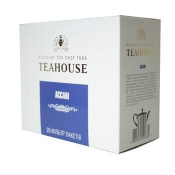 Чай пакетированный Teahouse Ассам 20 х 4 гр (Grand packs)