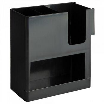 Диспенсер для паперових стаканів, кришок і капхолдерів на 3 відділи