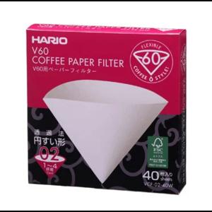 Паперовий фільтр Харіо для Пуровера 02