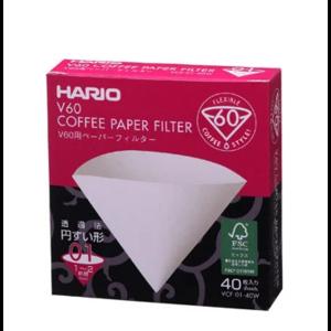 Паперові білі фільтри V60