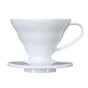 Пуровер Hario V60 01 білий пластиковий