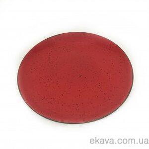 Тарілка плоска 30 CM, iris red 2-1207 INKER