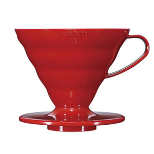 Пуровер Hario V60 02 червоний
