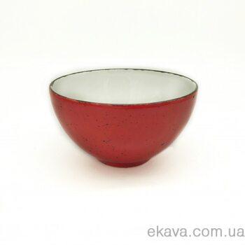 Миска 14 СМ, iris dots red, INKER