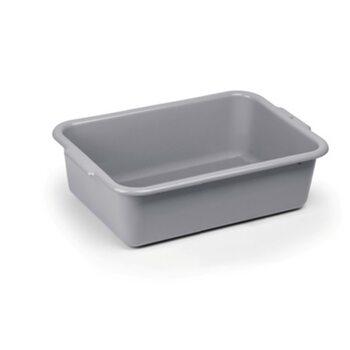 Лоток для сервисной тележки (серый пластик) (64,5*42,7*18,3см)