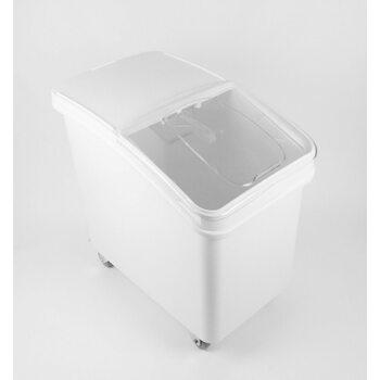 Контейнер для сыпучих ингридиентов, напольный на колесиках, 102 л.