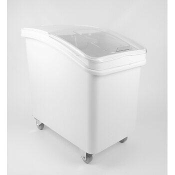 Контейнер для сыпучих ингридиентов, напольный на колесиках, 120 л.