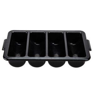 Лоток для столовых приборов (черный)