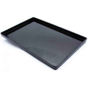Поднос из меламина 403 × 270 × 25 мм, черный