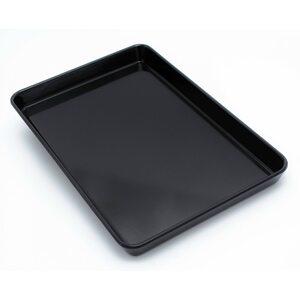Поднос из меламина 282 × 190 × 26 мм, черный