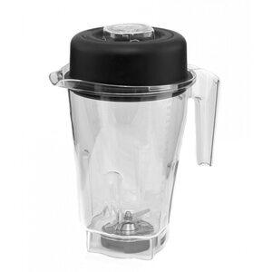 Чаша для блендера JTC, 4 литра с ножами, прозрачная (Бисфенол отсутствует)