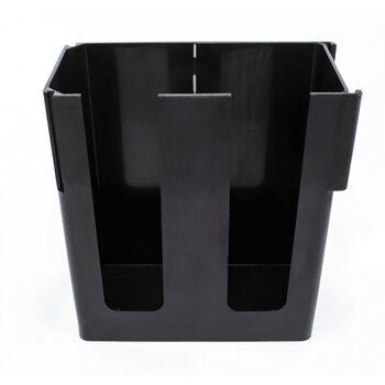 Диспенсер для паперових склянок і кришок на 2 осередки пластик