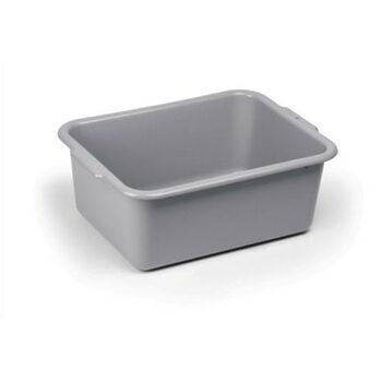 Лоток для сервисной тележки (серый пластик) (540 × 394 × 206 мм)
