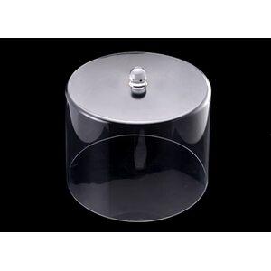 Крышка-колпак для торта акрил 31.5*31.5*24.5 см