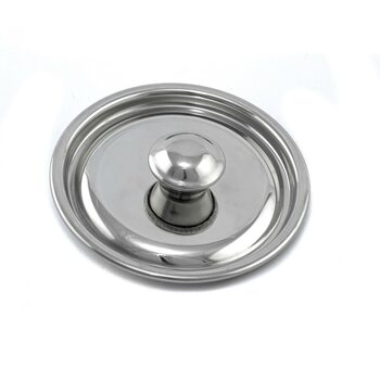 Крышка к мини ковшику с нержавеющей стали диаметр 90 мм 609117